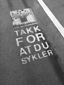 Takk for at du sykler • Trondheim, Norway